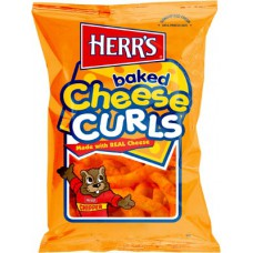 Herr's Cheese Curls Large (198g) - 12 Packs