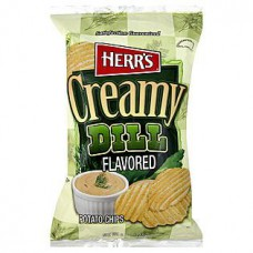Herr's Potato Chips Creamy Dill
