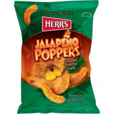 Herr's Jalapeno Poppers Cheese Curls (28g) - 42 Packs