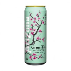 Arizona Green Tea with Ginseng and Honey (680ml) - 24 Pack