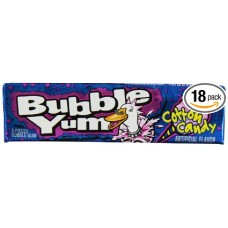 Bubble Yum Gum Cotton Candy 5-Piece Packages