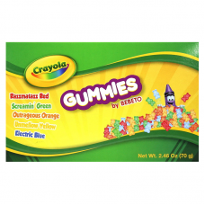 Crayola Fun Gummy Bear Theater Box 2.46oz