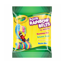 Crayola Fun Peg Bag Sour Rain Belts 3.5oz