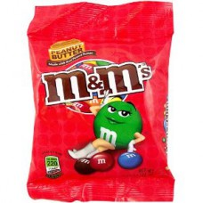 M&M's Peanut Butter Peg Bag