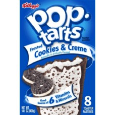 Pop Tarts Frosted Cookies & Crème