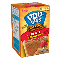 Pop Tarts Gone Nutty Peanuts butter Strawberry