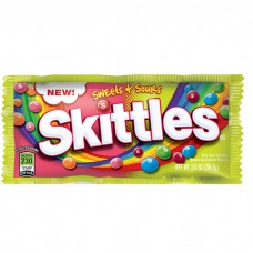 Skittles Sweet and Sours Bag