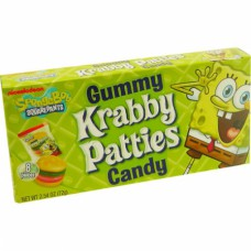 Krabby Patties Gummy Theater Box