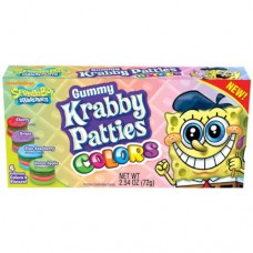 Krabby Patties Gummy Colour Theater Box