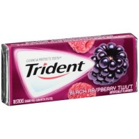 Trident Black Raspberry Twist 18pcs New