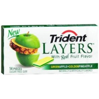Trident Layers Apple and Pineapple New
