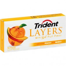Trident Layers Orchard Peach and Ripe Mango New