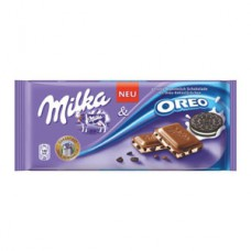 Milka Chocolate with Oreo
