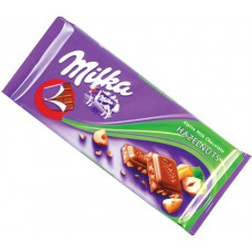 Milka Hazelnut Chocolate