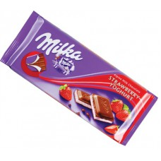 Milka Strawberry Chocolate Yogurt