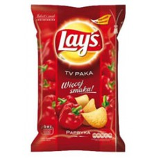 Lay's Paprika Chipsy(150g) - 20 Packs