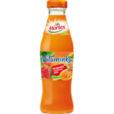 Hortex Vitaminka Strawberry Carrot and Apple Juice 250ML