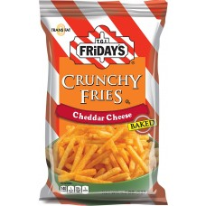 TGI Fridays Crunchy Fries Cheddar Cheese Baked 127g (1x12)