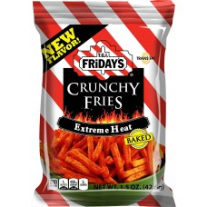 TGI Fridays Crunchy Fries Extreme Heat Baked 42g (1x18)
