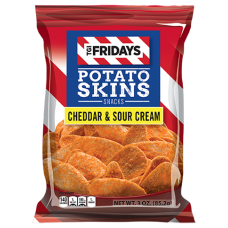 TGI Fridays Potato Skins Cheddar and Sour Cream 49g (1x18)