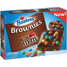 Hostess Brownies With M&M