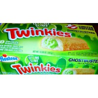 Hostess Ghost Buster Key Lime Twinkies