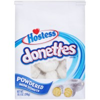 Hostess Powered Sugar Donettes