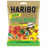 Haribo USA Sour Gold Bears