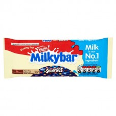 Milkybar with smarties block