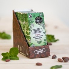 Rawr Organic Mint Chocolate Bar 10x60g