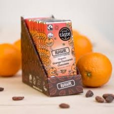 Rawr Organic Orange Chocolate Bar 10x60g