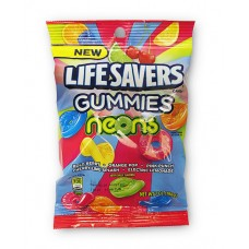 Lifesavers Gummies Neons Peg Bag
