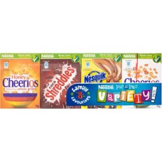 Nestle 8 Pack Cereal Selection