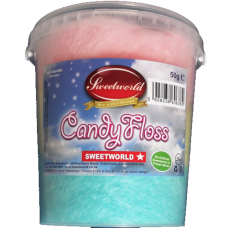 Sweetworld Candy Floss Tub