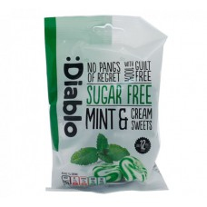 Diablo Sugar free Mint and  Cream Sweets