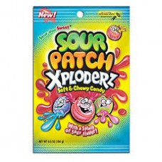 Sour Patch Xploderz Peg Bag