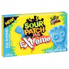 Sour Patch Stride Gum Extreme Blue Raspberry