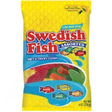 Swedish Fish Red Peg Bag