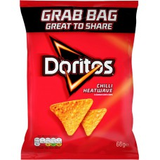 Doritos Chili Heat Wave Grab Bag (66g) X 24Packs