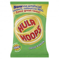 Hula Hoops Cheese & Onion (34g) X 48Packs