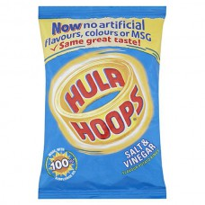 Hula Hoops Salt & Vinegar  (34g) X 48Packs