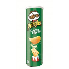 Pringles Cheese & Onion (190g) - 6 Packs