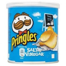 Pringles Salt & Vinegar (40g) - 12Packs