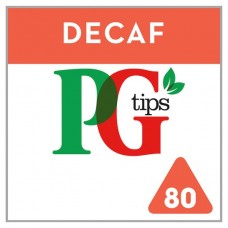 PG Tips Pyramid Decaffeinated 80 bags