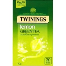 Twinings Lemon Green Tea 4x20