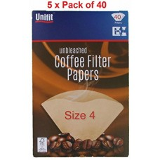 Unifit Coffee Filter Papers 1x40
