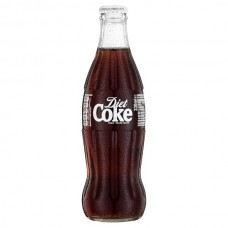Diet Coca Cola in Glass Bottles (330ml) X 24Pack