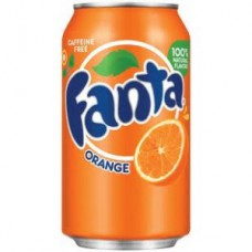 Fanta Orange Cans (330ml) X 24Cans