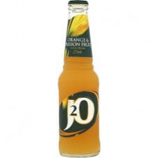 J2O Orange and Passionfruit Glass Bottle (275ml) X 24Packs
