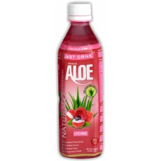 Just Drink Aloe Vera Drink Lychee (500ml) x 12Pack